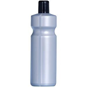 leere 1 Liter Flaschen mit seitlichen Sichtstreifen