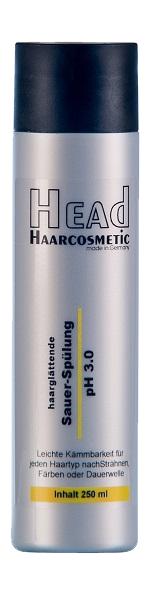 Haarglättende Sauer-Spülung pH 3.0 250 ml